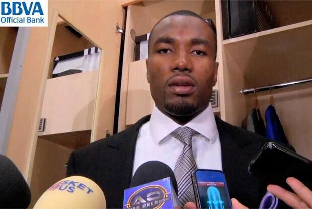 Serge Ibaka, jugador de Oklahoma City Thunder