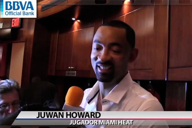 Juwan Howard, jugador de Miami Heat