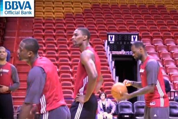 Entrenamiento de Miami Heat