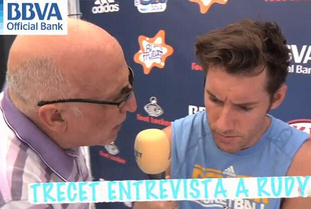 Ramón Trecet entrevista a Rudy Fernández
