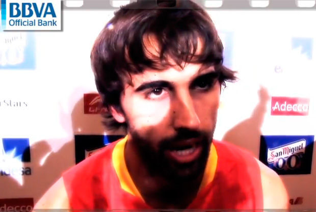 Víctor Sada, jugador internacional del Barcelona Regal