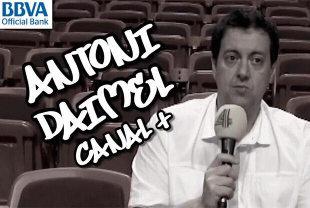 Antoni Daimiel, periodista y especialista de la NBA en Canal +