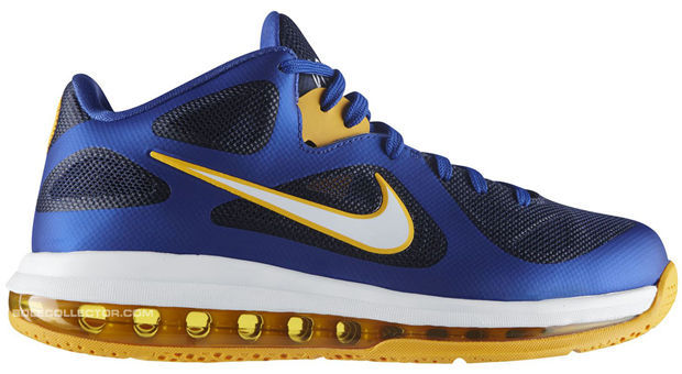 Nike LeBron 9 Low - Royal/University Gold-Obsidian
