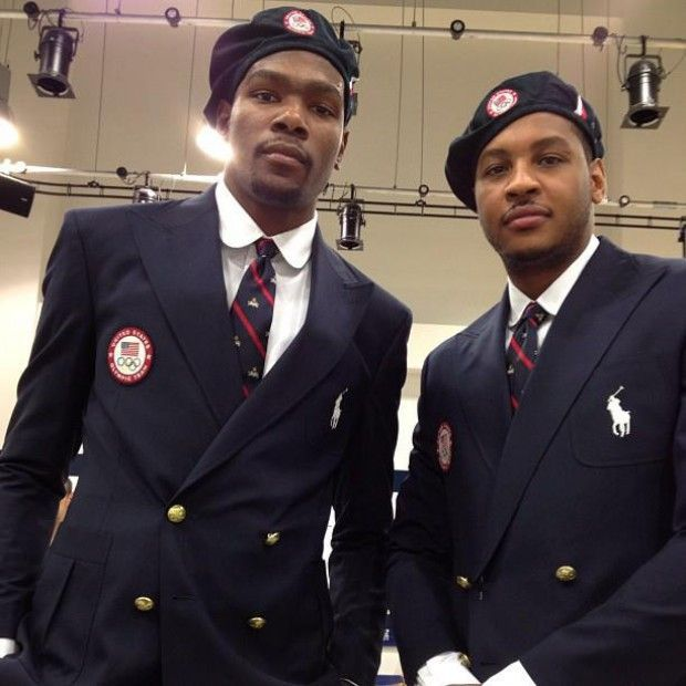Kevin Durant y Carmelo Anthony