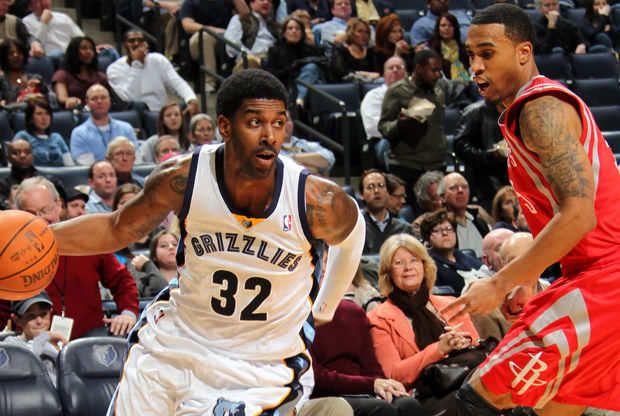 O.J. Mayo y Courtney Lee./ Getty Images