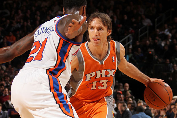 Iman Shumpert y Steve Nash./ Getty Images