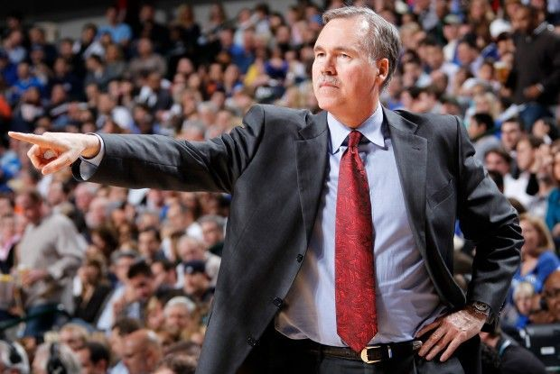 Mike D'Antoni./Getty Images
