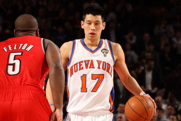 Raymond Felton y Jeremy Lin./ Getty Images