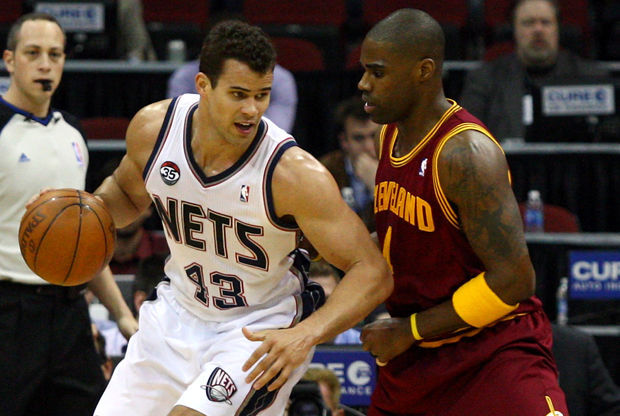 Kris Humphries y Antawn Jamison./ Getty Images
