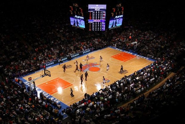 Madison Square Garden./ Getty Images