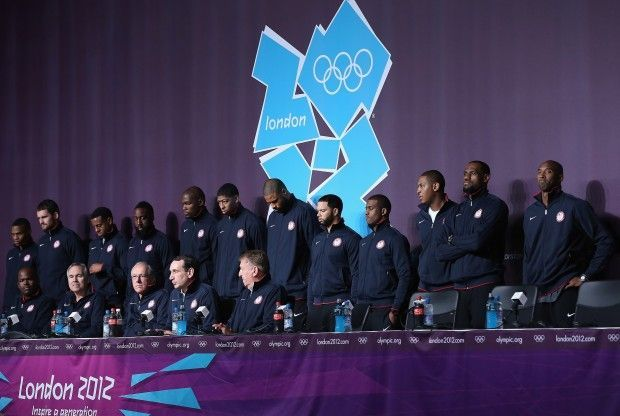 Team USA London 2012./ Getty Images