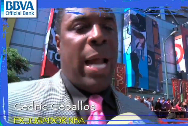 Cedric Ceballos, ex jugador de la NBA