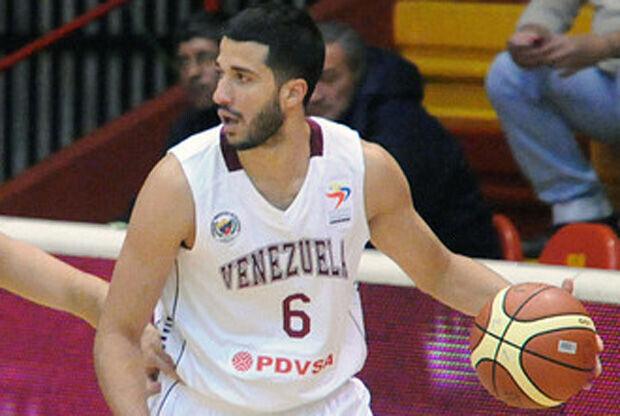 Greivis Vásquez, con la camiseta de Venezuela./ FIBA Americas