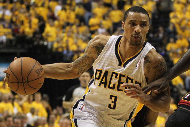 George Hill, jugador de los Indiana Pacers./ Getty