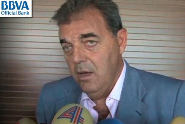 Juan Carlos Sánchez, director de la sección de baloncesto del Real Madrid