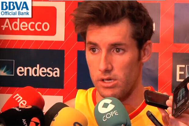 Rudy Fernández, jugador del Real Madrid y de la selección española de baloncesto