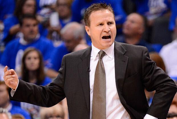 Scott Brooks, entrenador de los Oklahoma City Thunder./ Getty