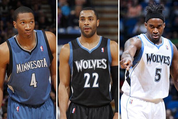 Wesley Johnson, Wayne Ellington o Martell Webster./ Getty Images