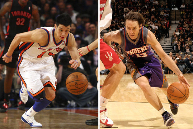 Jeremy Lin y Steve Nash./ Getty Images