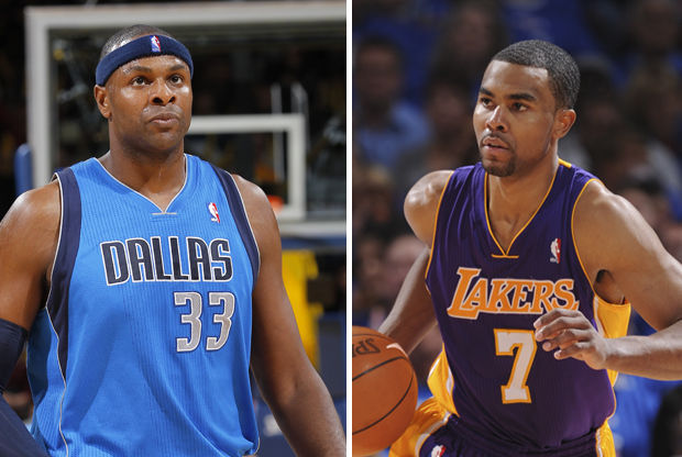 Brendan Haywood y Ramon Sessions./ Getty Images