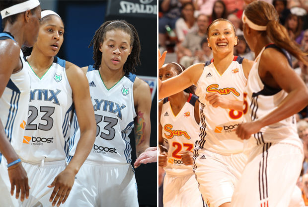 Minnesota Lynx y Connecticut Sun./ Getty Images