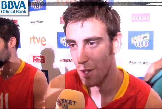 Víctor Claver, jugador internacional del Valencia Basket
