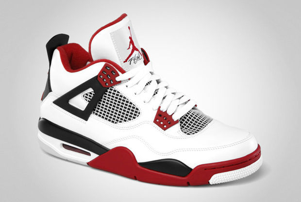 Air Jordan IV 'Fire Red'