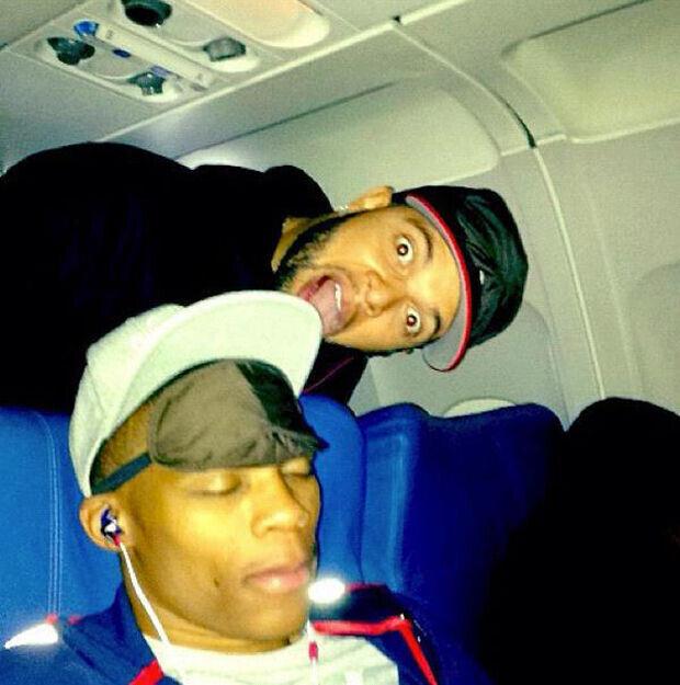 Deron Williams y Russell Westbrook