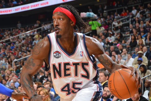 Gerald Wallace, con la camiseta de los Nets./ Getty