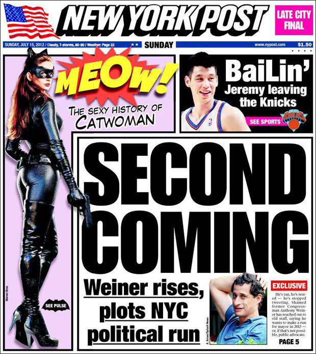 El posible adiós de Jeremy Lin es portada del New York Post