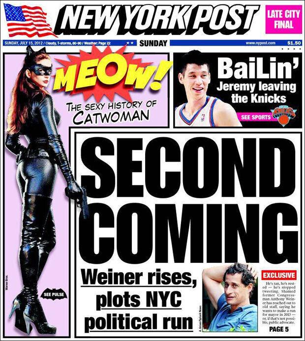 El posible adiós de Jeremy Lin es portada del New York Post