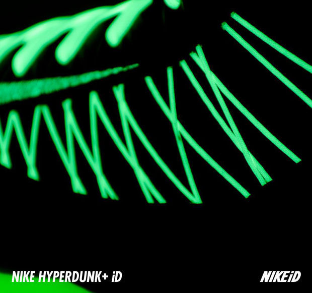Nike - Hyperdunk 2012 iD 'Glow'