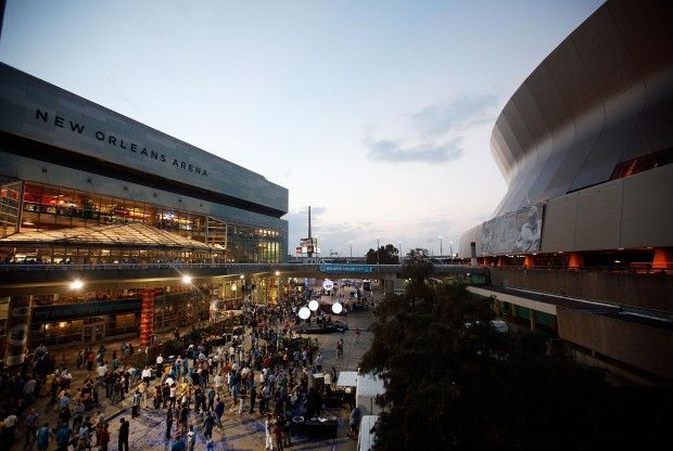 New Orleans Arena./ Getty Images