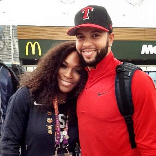 Deron Williams y Serena Williams