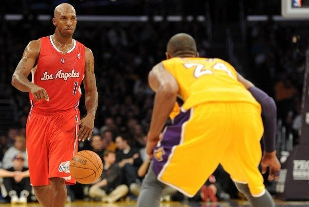 Chauncey Billups, Kobe Bryant./ Getty Images