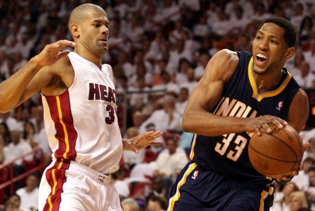 Shane Battier, Danny Granger./ Getty Images