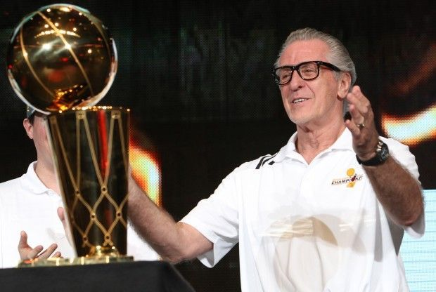 Pat Riley./ Getty Images