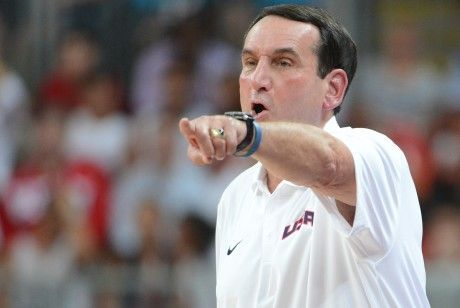 Coach K./ Getty Images