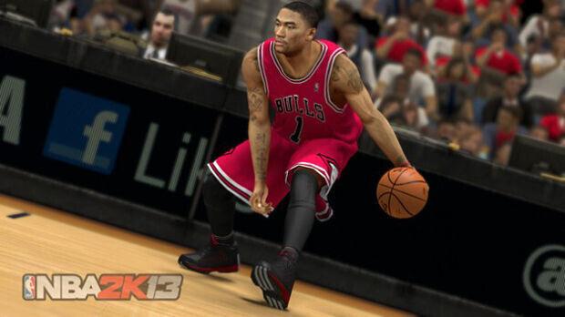 Derrick Rose - Las primeras imágenes del NBA 2K13