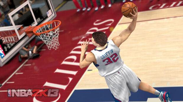 Blake Griffin - Las primeras imágenes del NBA 2K13