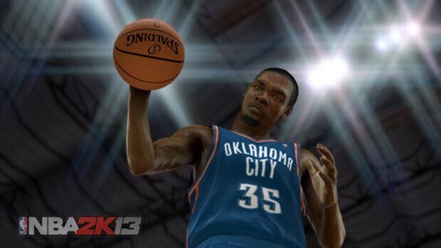 Kevin Durant - Las primeras imágenes del NBA 2K13