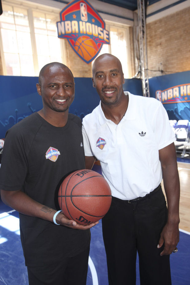 Bruce Bowen y Patrick Vieira inauguran la casa de la NBA en Londres