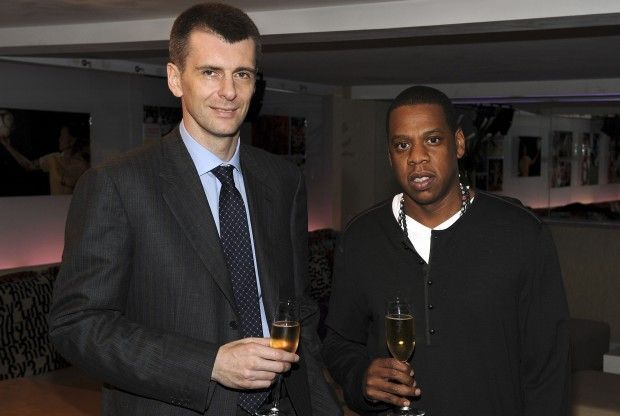 Mikhail Prokhorov y Jay-Z./ Getty Images