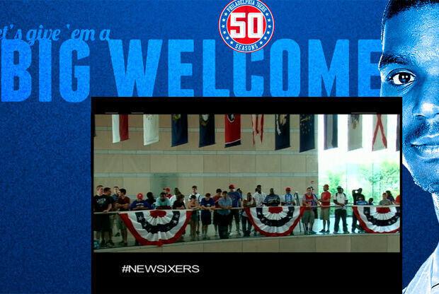 La web de los Sixers preparada para dar la bienvenida a Bynum y Richardson