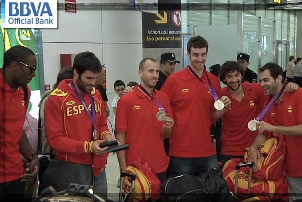La plata llega a España