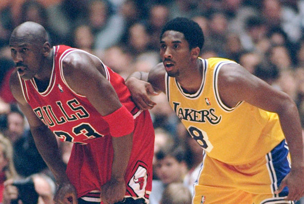 Michael Jordan y Kobe Bryant./ Getty