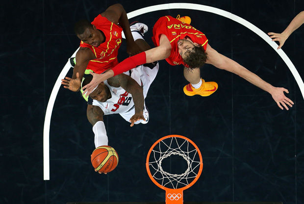 LeBron James./ Getty