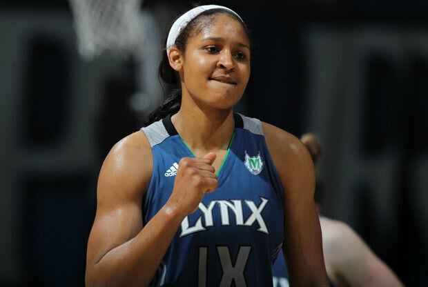 Maya Moore, jugadora de las Minnesota Lynx./ Getty