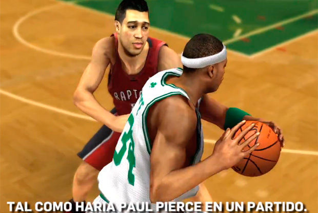 Imagen del videojuego NBA 2K13