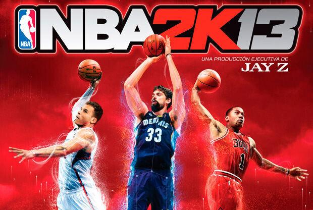 Portada española del NBA 2K13
